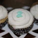 Second Birthday Cupcakes
