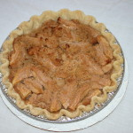 All Things Apple Caramel Streusel Pie