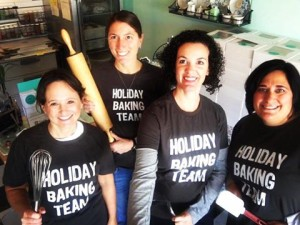The Holiday Baking Team at Rachel's Sugar Shop